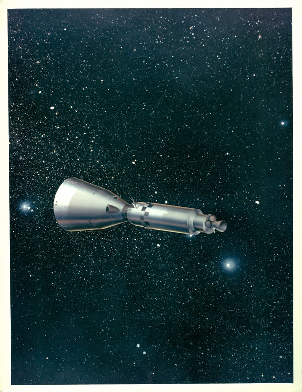 Vintage NASA Art (page 5) - Pics about space